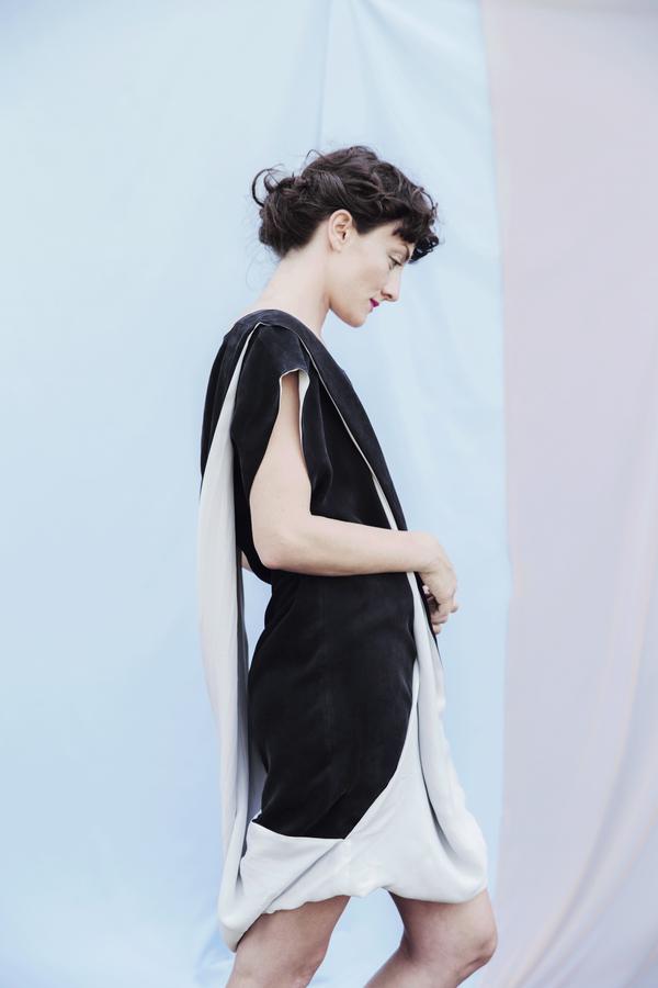 Portland Garment Factory Twist Dress
