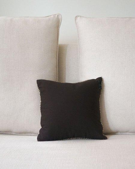 VOZ Mesa Pillow Small - Brown/Ivory