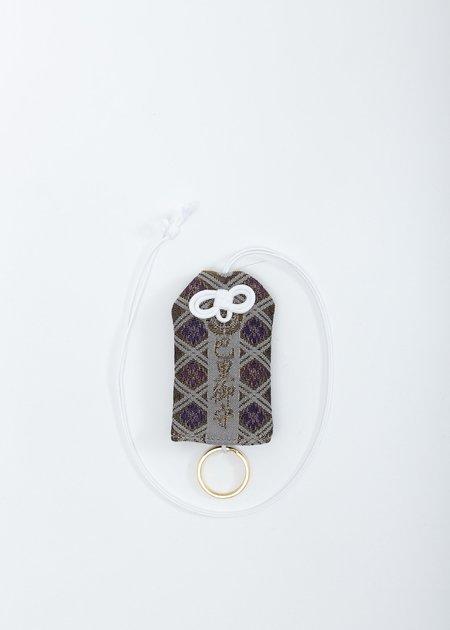 Doublet Omamori Necklace - Ivory