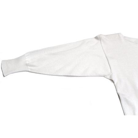 Nicholson & Nicholson Tricolor Longsleeve Sweater - White