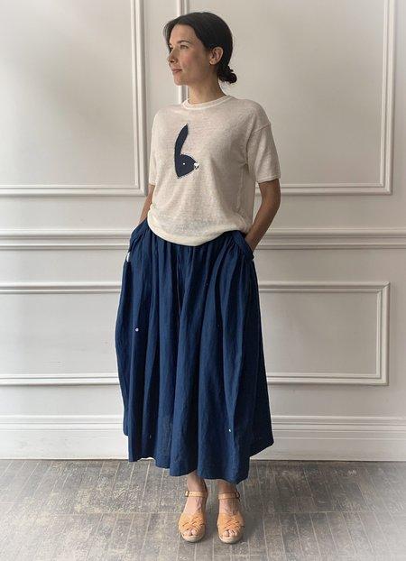 Mina Perhonen Cosmos Skirt - Blue