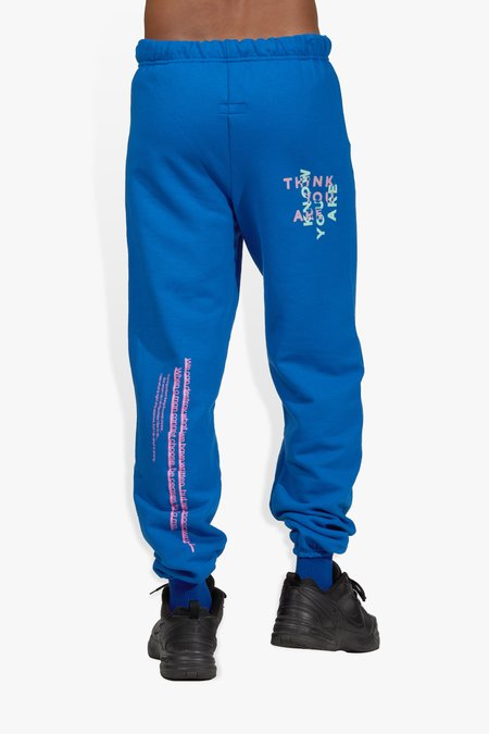 The Celect Sayings Sweatpants - Blue
