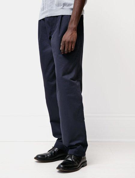 James Coward Pants for Pierre Beauger - Dark Navy