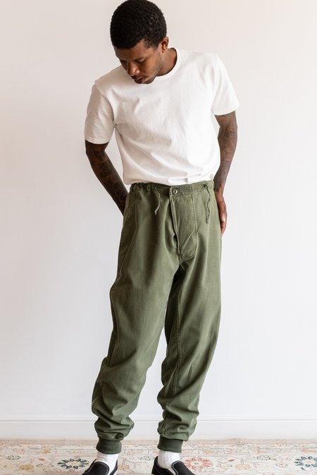 Vintage Drawstring Pants - Army