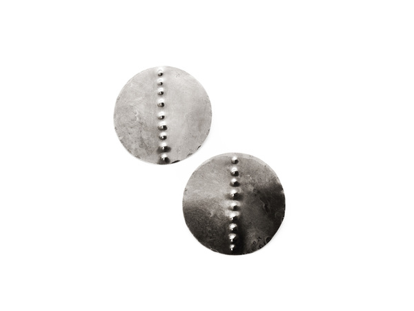 Laurel Hill Jewelry Petroglyph Disc Earrings