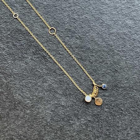 Jane Hollinger Elayna Necklace - 14k Yellow Gold