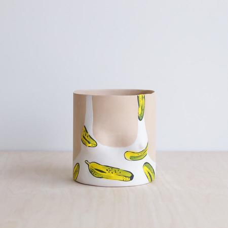 Group Partner Boob Pot - Light Bananas