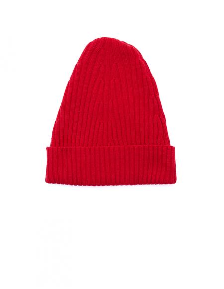 Maison Margiela Wool Beanie - Red