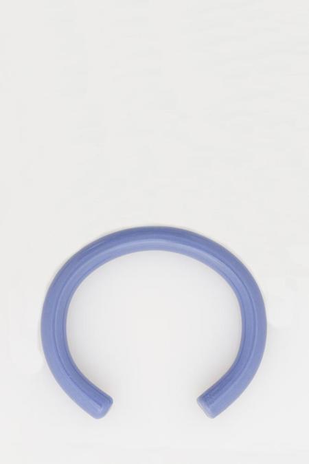 Keane Glass Cuff - Periwinkle