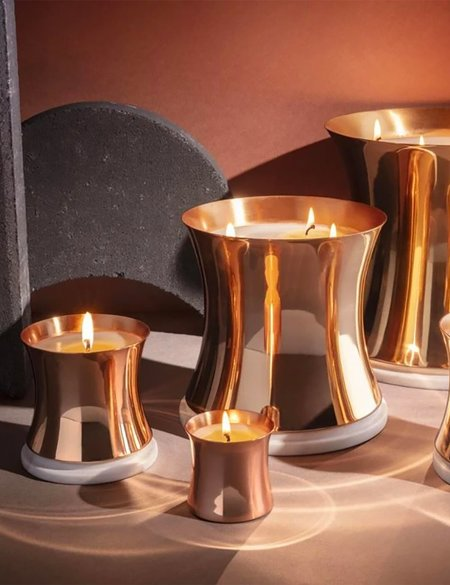 Tom Dixon London Candle (Large) - Brass
