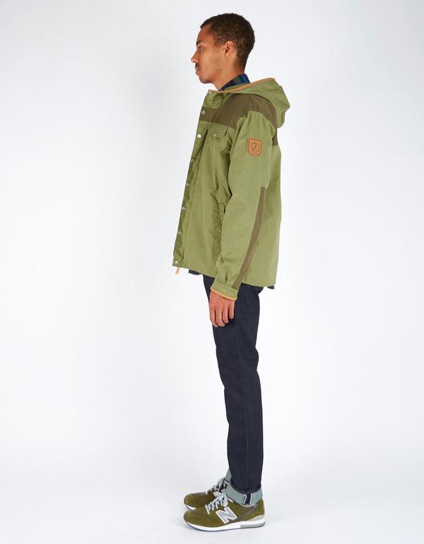 Men's Fjallraven Greenland No. 1 Special Edition Coat Green Tarmac