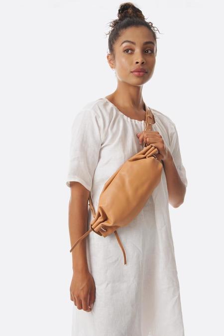 Bonastre Tan Ring Crossboday Bag