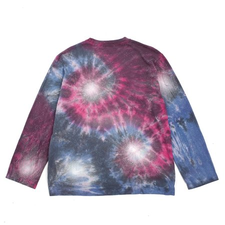 Our Legacy Box Longsleeve Tshirt - Firework Tie Dye