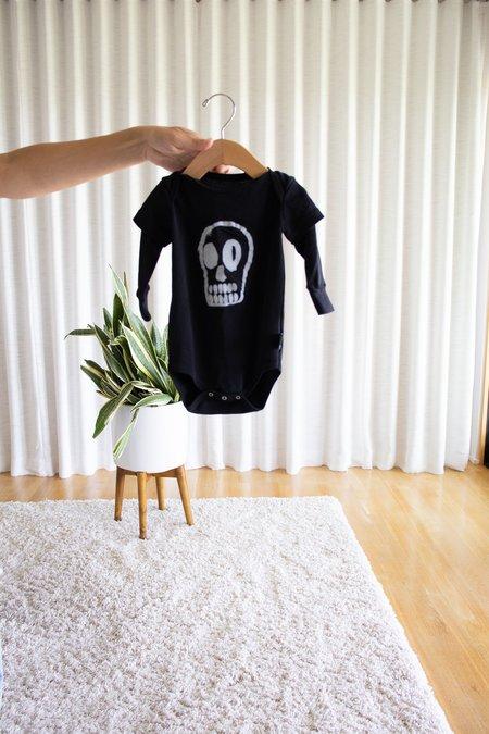 Kids Nununu Dizzy Skull Bodysuit - Black