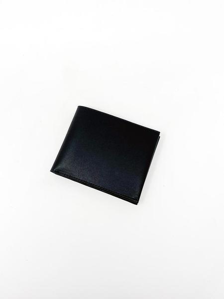 "Isaac Reina ""Une feuille"" Wallet A - Black/Natural"