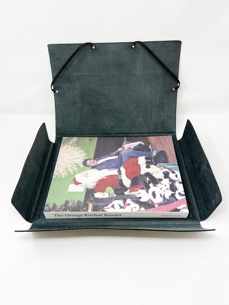 Isaac Reina A4 Covered Folder - Black