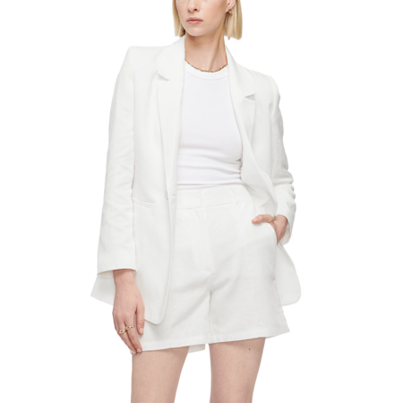Anine Bing Mila Short - White