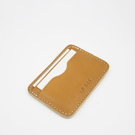 Leather Crown Le Bas Card Holders