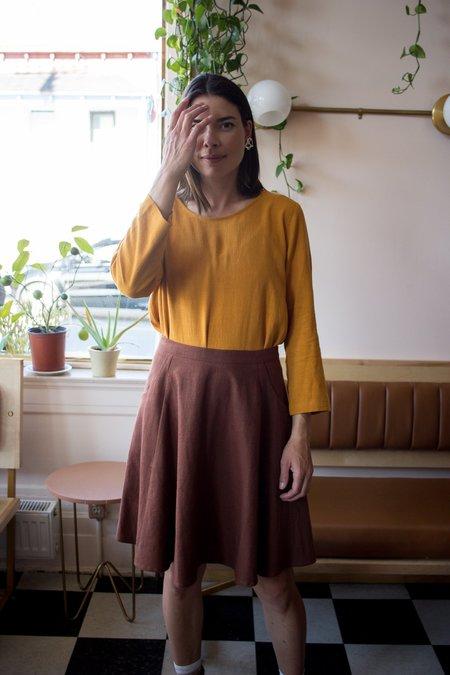 Amanda Moss Neala Top - Sunflower
