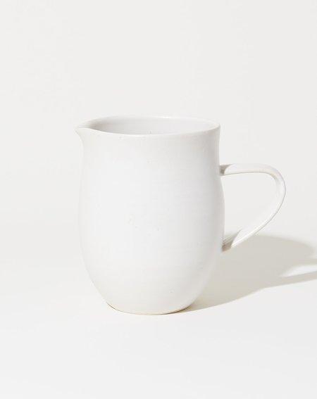 Sheldon Ceramics Farmhouse Pitcher - Eggshell