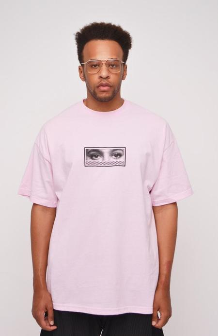 The Celect Geo Fade T-Shirt - Pink