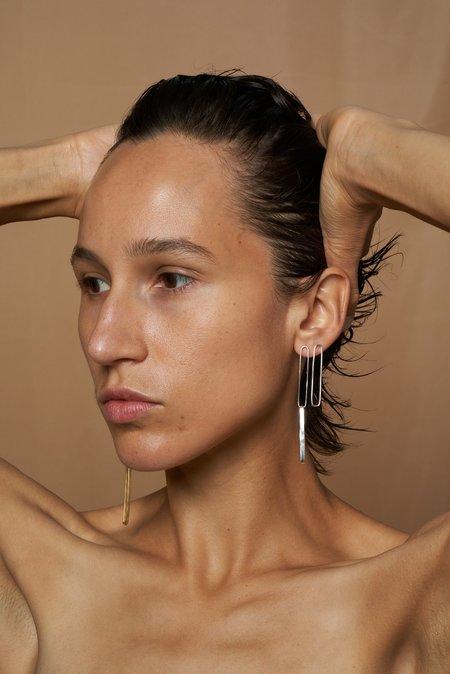 Fay Andrada Jono Single Earrings - Silver