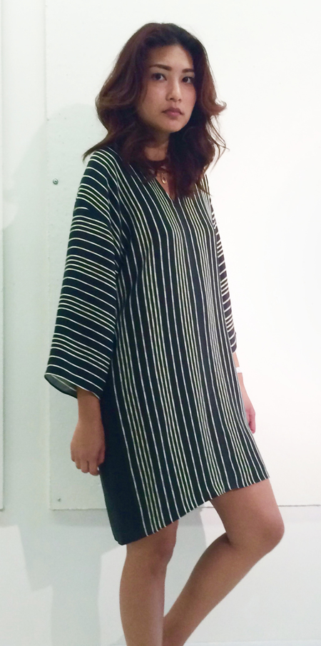 RHOI Claudine Stripe Dress