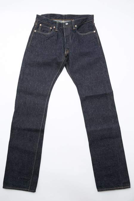 Pure Blue Japan 14oz Slim Straight One Wash Jean
