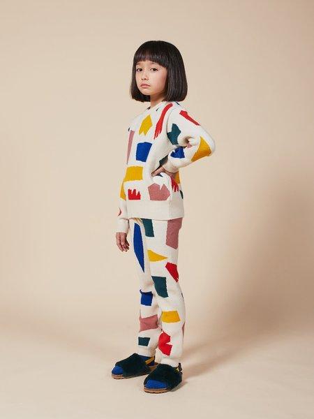 Kids Bobo Choses Shadows Knitted Jumper - Multi
