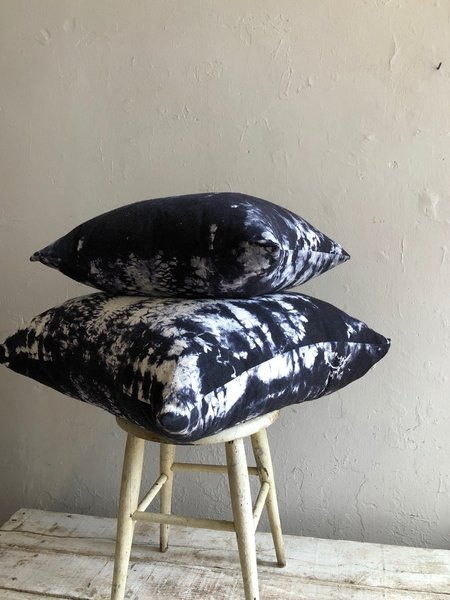 Riverside Tool & Dye Feather Filled Raw Silk House Pillows