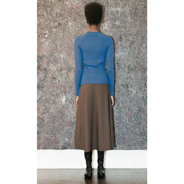 Pari Desai Raglan Sweater - Azure