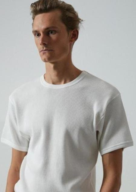 Banks Journal Waffle Tee - Off White
