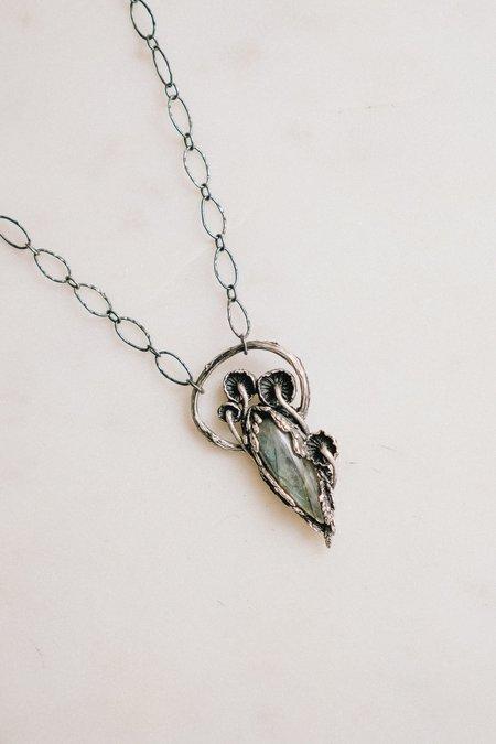 Theeth Mushroom Cocoon Necklace