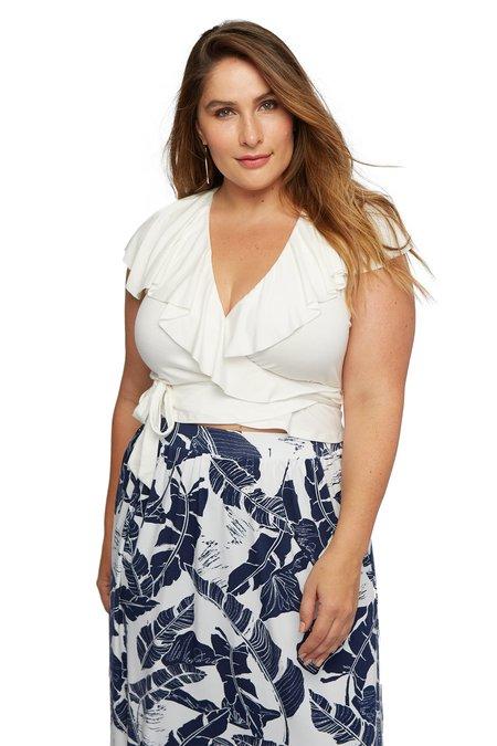 Rachel Pally Landi Top - White