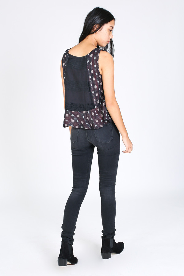 Ace & Jig Anais top in Anisette