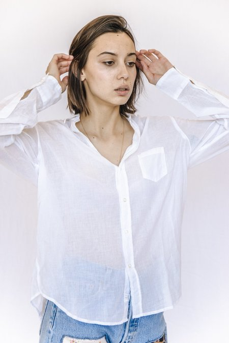 Frank and Eileen Cotton Voile Button Down