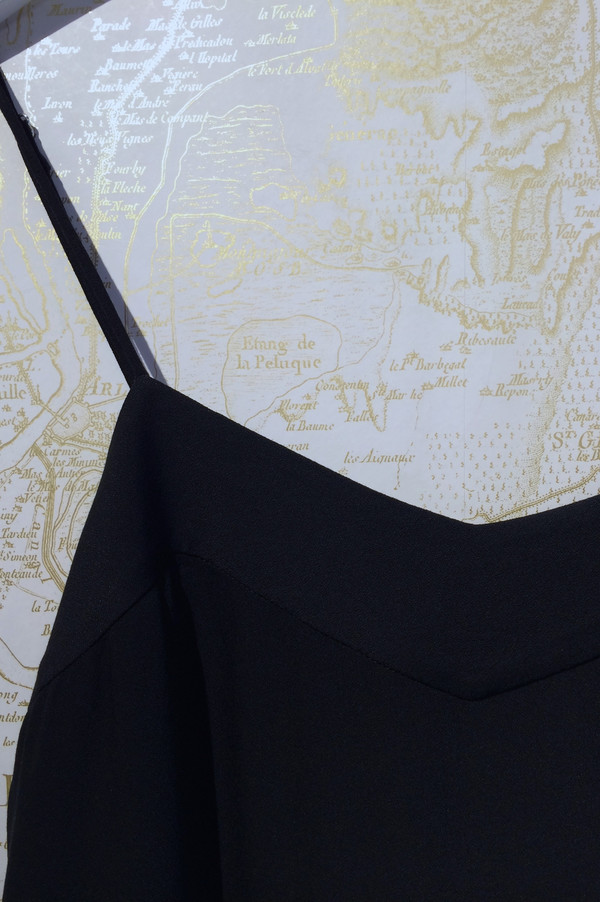 Jenni Kayne Stretch Crepe Camisole Dress