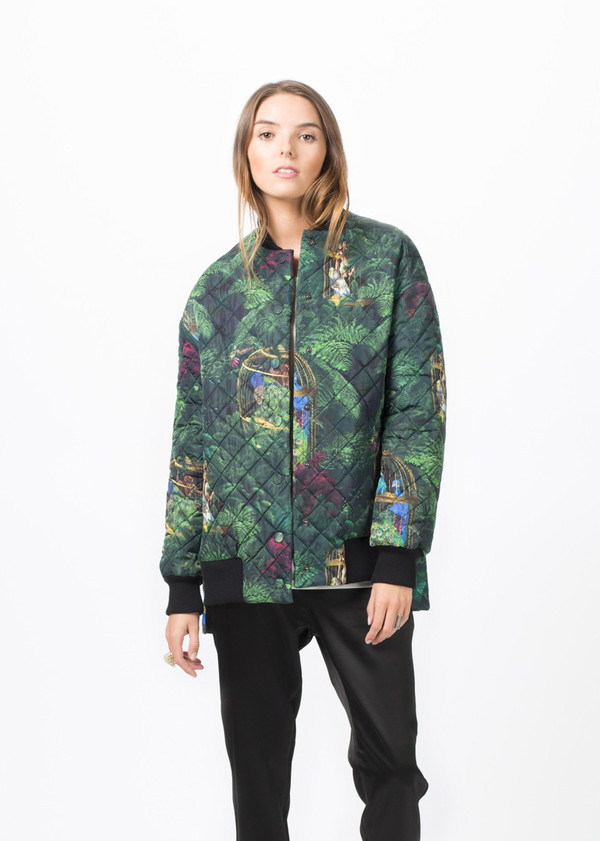 Fete Imperiale Anastasia Quilted Jacket