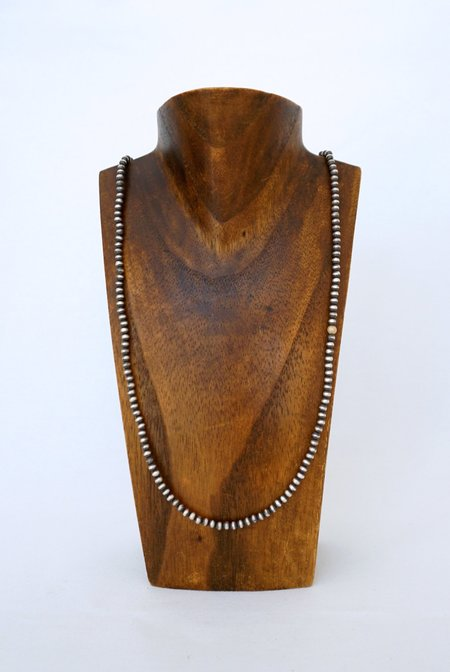 CLP Jewelry Navajo Pearl Necklace - Sterling Silver