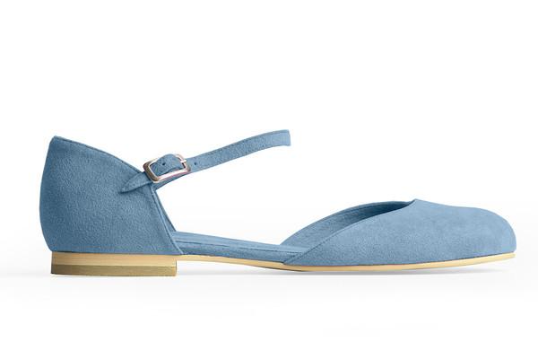 Rafa Mary Jane Ballet Flat –Azur