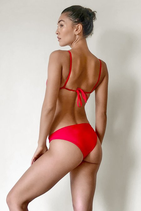 Lacausa Bikini Brief - Cherry