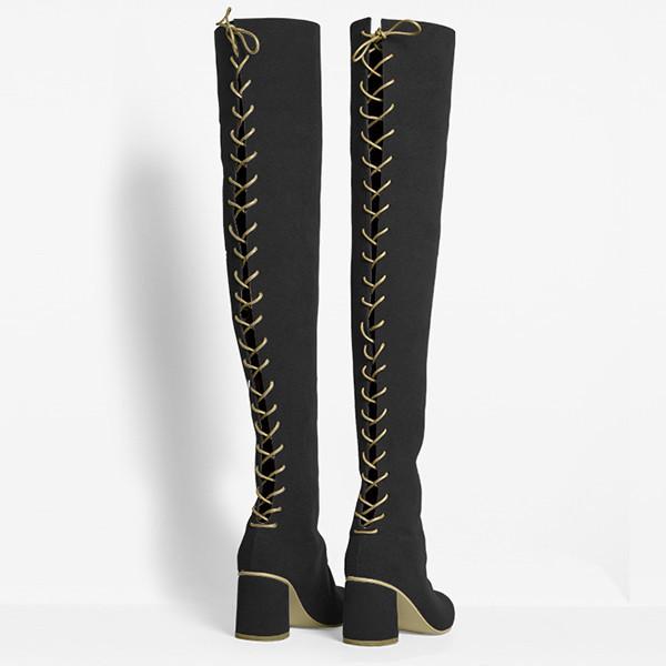 Rafa Stick Boot –Sloe