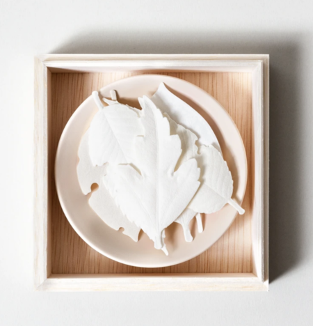 HA KO Leaf Japanese Incense - White