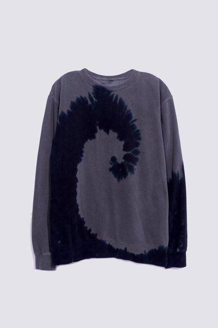 Unisex Assembly Sweatshirt - Dark Grey Tie Dye