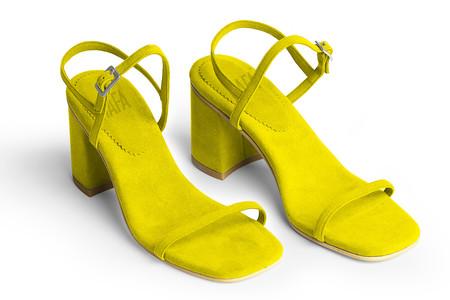 Rafa The Simple Sandal –Citrine