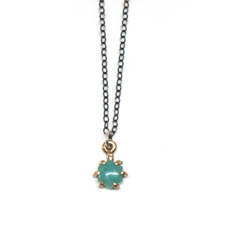 Laurel Hill Jewelry Io Pendant // Amazonite