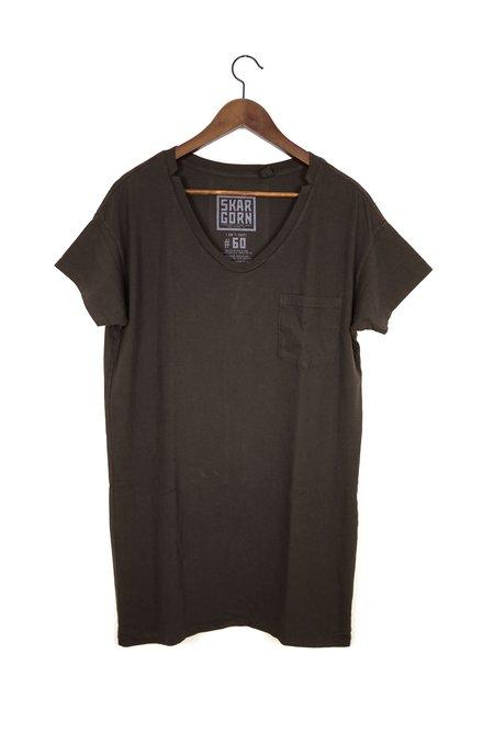 Skargorn #60 Tee Dress - Java Wash