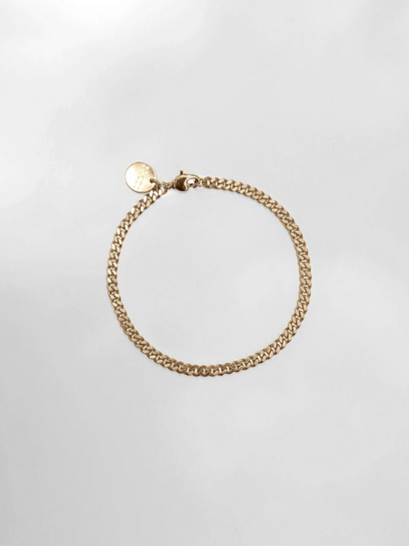 Young Frankk Chain Anklet - Gold plated