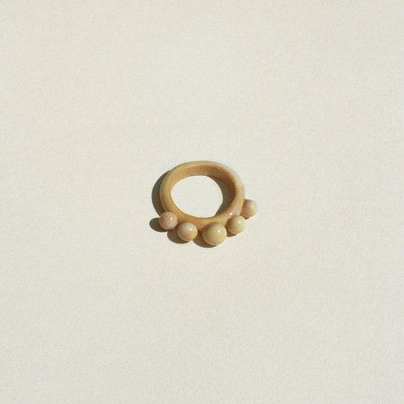 Tiana Petrullo Arc Ring - Alba