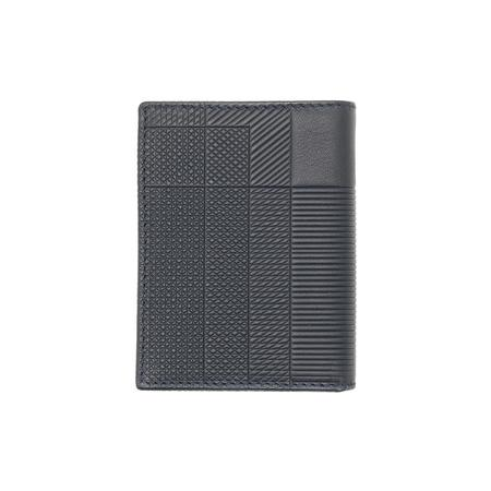 COMME des GARCONS Classic Wallet - Intersection/Navy